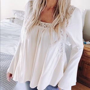 Long sleeve Boho Flowy Top